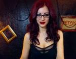 Live Webcam Chat: Morticia